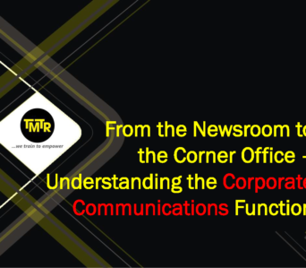 From the Newsroom to the Corner Office – Understanding the Corporate Communications Function
